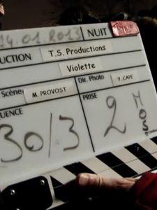 Violette, le making-of