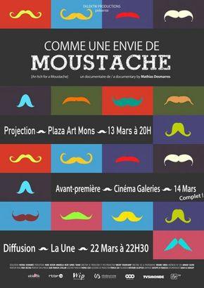 Comme une envie de moustache
