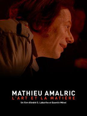 Mathieu Amalric, l'art et la matière
