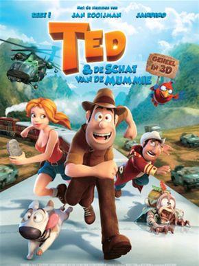 Ted en de schat van de mummie