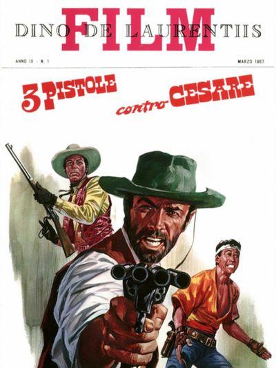 Trois pistolets contre César