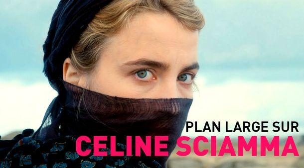 Plan large sur Céline Sciamma